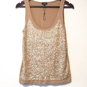 NEW Talbots Tank Top with Sequins Size Petites M